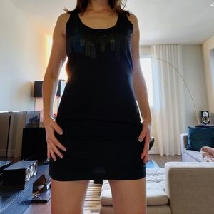 Diesel Edgy Black Mini Dress